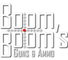 Boom Booms Guns & Ammo Logo